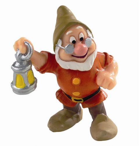 "BULLYLAND SNOW WHITE DISNEY - Doc (5.5 cm / 2.2 "")"